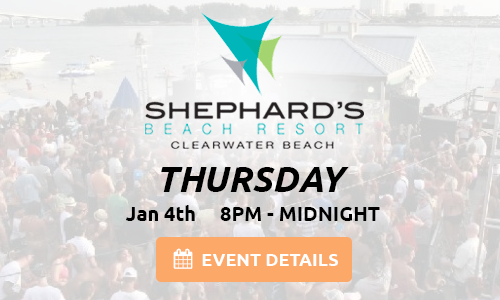 Shephard's Beach Resort – 01-04-18 – Clearwater Beach