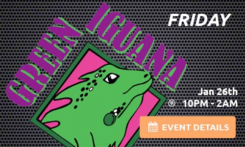 Green Iguana – Westshore – 01-26-18 – Tampa