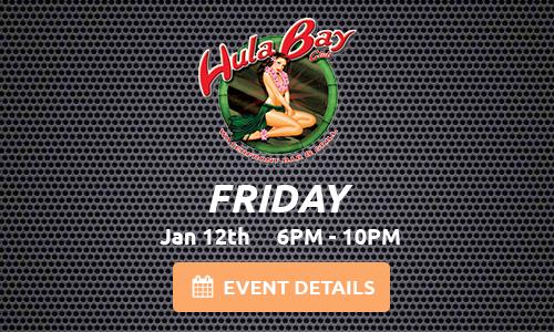 Hula Bay 01-12-18 Tampa, FL 33611