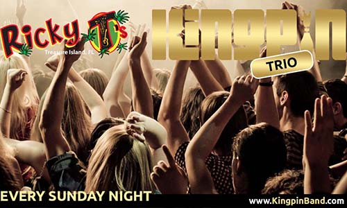 Ricky Ts – Every Sunday Night – Treasure Island, FL
